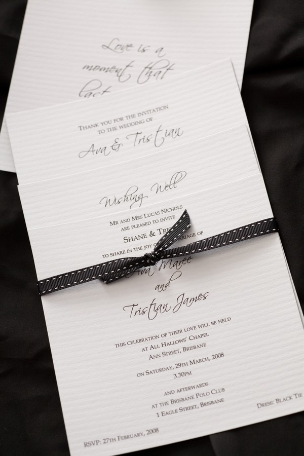 Invitation paper suppliers